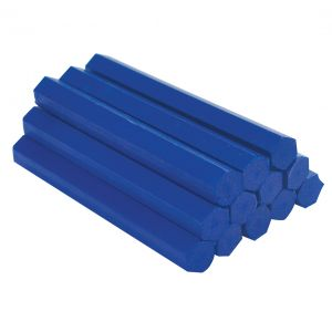 Image for OX Trade Lumber Crayons - Blue - Pack of 12