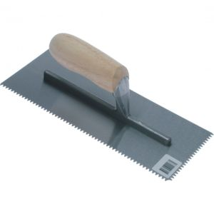Image for OX Trade 4mm V Notch Trowel