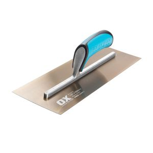 OX Pro Golden Steel Finishing Trowel